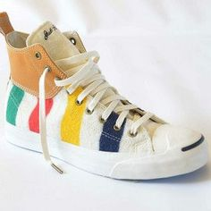 Converse: Hudson's Bay + Jack Purcell Deck Mid