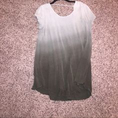 Ombré green dress Super comfortable. Worn maybe 3 times. Perfect condition. Tag says large but could fit a medium. Final Touch Dresses