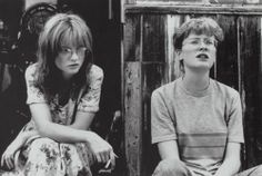 "Jane Horrocks and Claire Skinner is Mike Leigh's ""Life is Sweet""."