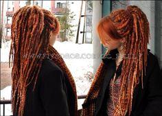ginger yarn dreads - Sök på Google