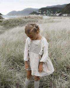 Another sneak peek from one of my favourites 🌾 The Märta Apron dress arriving in new season colours, next month. Little Girl Outfits, Little Girl Fashion, Toddler Fashion, Fashion Kids, Winter Fashion, Bebe Love, Outfits Niños, Moda Boho, Apron Dress