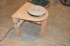 kyrotechnics - projects blog: DIY Pottery Wheel - failure