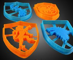 Game of Thrones Sigil Cookie Cutters (3D printed)