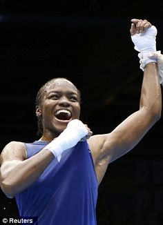 Nicola Adams - The first female boxing Olympic champion, and a Brit at that. You go girl! You've made your country proud.