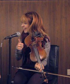 I feel like a professional when I hold my violin like that