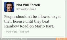 Will Ferrell knows