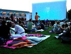 FREE open-air cinema on summer nights in Parc de la Villette