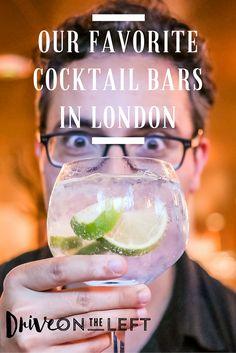 We do love a good drink, so after 3 years of sampling some of London's finest cocktails, we compiled a list of our favorite cocktail bars in London!  Featuring: Nightjar, Happiness Forgets, Ladies and Gents, Artesian, Peg + Patriot, 69 Colebrook Row