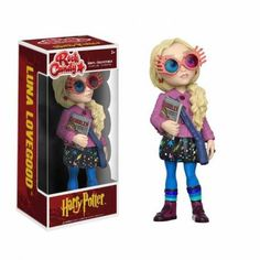 Figura Harry Potter Luna Lovegood Rock Candy - Funko