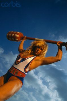 "Shelley Beattie"" Siren"" on the American Gladiators, August 24, 1967 – February 16, 2008 ...RIP"