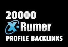 create XRUMER Backlinks 100000 within 7 days for $12