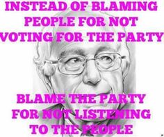 Bernie Sanders for President! #BernieSanders2016  For more information on #BernieSanders  --> FeelTheBern.org  Are you in a closed primary election state? Change your party registration to democrat to be able to vote for #Bernie Voteforbernie.org #FeelTheBern