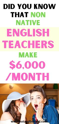 Find out the non native english teacher's secret to making money teaching english online! Make $6,000+ every month working online! Make money with a remote job and pay off debt with the profit! Online Teaching Jobs, Teaching English Online, Teaching Resources, English Teacher Jobs, Job Website, Jobs For Teachers, Online Classroom, Online Lessons, Online Work