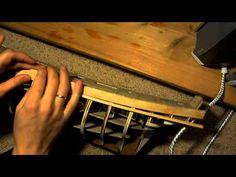 обшивка корпуса корабля hms bounty (bend planks) - YouTube