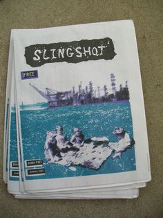 We've got copies of Slingshot newspaper free when you order from us and select Priority Mail shipping! http://pioneerspress.com/