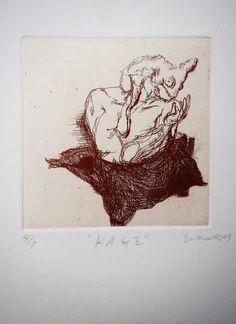 KAGE / Etching, Drypoint, Engraving 2013