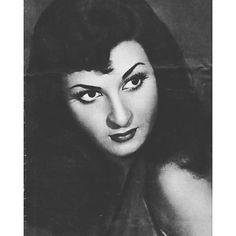 الفنانة المصرية نعيمة عاكف .1929/1966 Egyptian Actress Naeima Akef