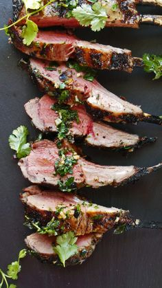 Cottage long weekend! This must be on your list-Spiced Grilled Rack of Lamb