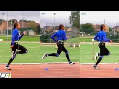 The slow motion video analysis compares the same runner running at 3 different speeds. Using ultra slow motion, it shows differences in the foot strike, and . Running Gif, Run Cycle, Gifs, Walk Run, Motion Video, Animation Reference, Live Action, Animated Gif, Pixel Art