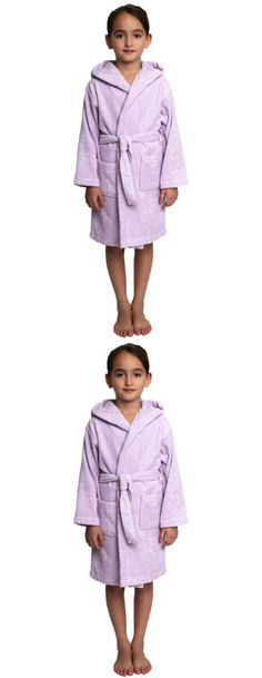 Robes Frugal Children Hooded Bathrobe Kids Boys Girls Cotton Lovely Bath Robes Dressing Gown Kids Homewear Sleepwear With Belts Summer Underwear & Sleepwears
