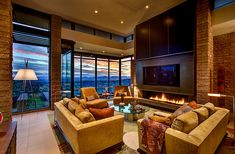 Living room - gorgeous | Kevin B. Howard Architects, Inc.