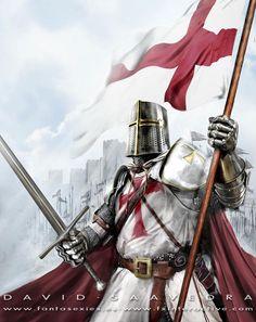 Templar Knight by flipation.deviantart.com on @deviantART