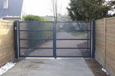 Metalen poorten: klassieke of moderne poorten Main Gate, Gate Design, Modern, Room, Furniture, Home Decor, Google, Crafts, Bedroom