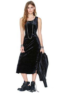 Ivan Velvet Dress