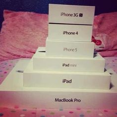 Apple Products I would own them all<3