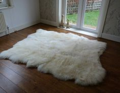 Large UK Sheepskin Rug | www.hiderugs.co.uk