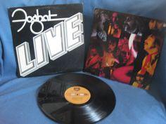 RARE Vintage Foghat  Live Vinyl LP Record Album by sweetleafvinyl, $7.99