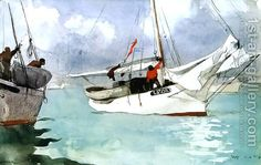 Winslow Homer: Barcos de pesca, de Cayo Hueso