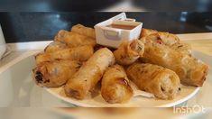 Meilleurs nems aux crevettes 🍤 - YouTube Creamy Chicken Spinach Pasta, Spinach Stuffed Chicken, Galette