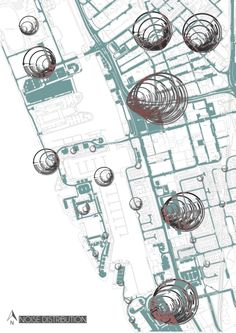 Noise Pollution Site Analysis Architecture, Architecture Mapping, Architecture Graphics, Map Diagram, Noise Sound, Noise Pollution, Urban Analysis, Mixed Use, Mark Making