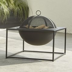 Carswell Small Firepit | Crate and Barrel