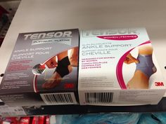 """Spotted: gendered tensor bandages! The women's is smaller yet costs $1 more.  ""Slim silhouette""!"" (Thanks @ Ali_Rodney!)"