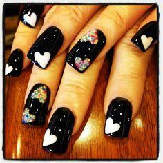 Black & Hearts ♥
