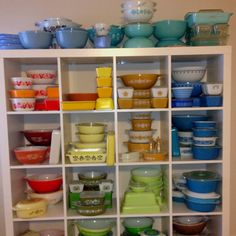 Most of my Pyrex collection