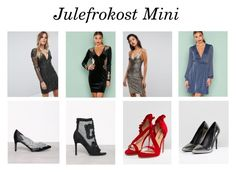 """Julefrokost mini"" by celinamathiesen ❤ liked on Polyvore featuring Club L and ASOS"