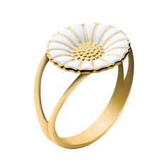 Georg Jensen - Daisy. Typical Danish jewelry. The ring was the first present I got when I moved to Denmark over two years ago.