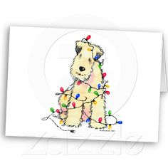 Soft Coated Wheaten Terrier - Christmas Cards from Zazzle.com