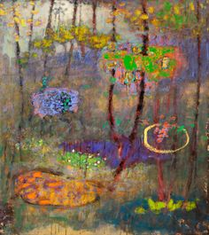 """Conjuring Space and Timeoil on canvas 