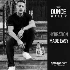 Amazon Prime Members, get Great deals on  Theo Rossi's OUNCE WATER! 💧🍶👑