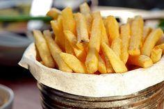 Como deixar as batatas fritas sequinhas e crocantes.