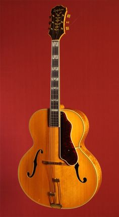 Catch of the Day: 1943 Epiphone Emperor Jazz Guitar, Music Guitar, Guitar Amp, Cool Guitar, Playing Guitar, Art Music, Epiphone Acoustic Guitar, Archtop Guitar, Gibson Epiphone