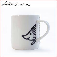 LISA LARSON リサラーソン ハリエット マグカップ 300CC /キッチンウェア/リサ・ラーソン/動物/はりねずみ/かわいい/北欧/雑貨/日本製/あす楽
