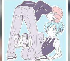 Karma and Nagisa Karma Kun, Nagisa And Karma, Assassin, Classroom Memes, Koro Sensei, Nagisa Shiota, Ship Drawing, Dream Anime, Titans Anime