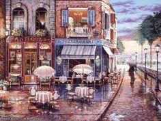 Laminas decoupage: laminas de paisajes, para cuadros..trabajos con decoupage...antiguas