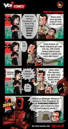 VGI - VGI Comics: Nonton Deadpool