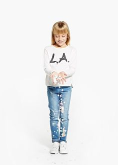 La t-shirt   MANGO KIDS